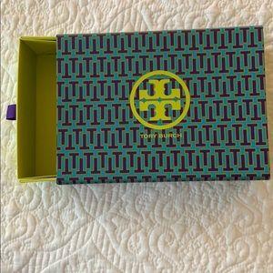 Tory Burch patterned box
